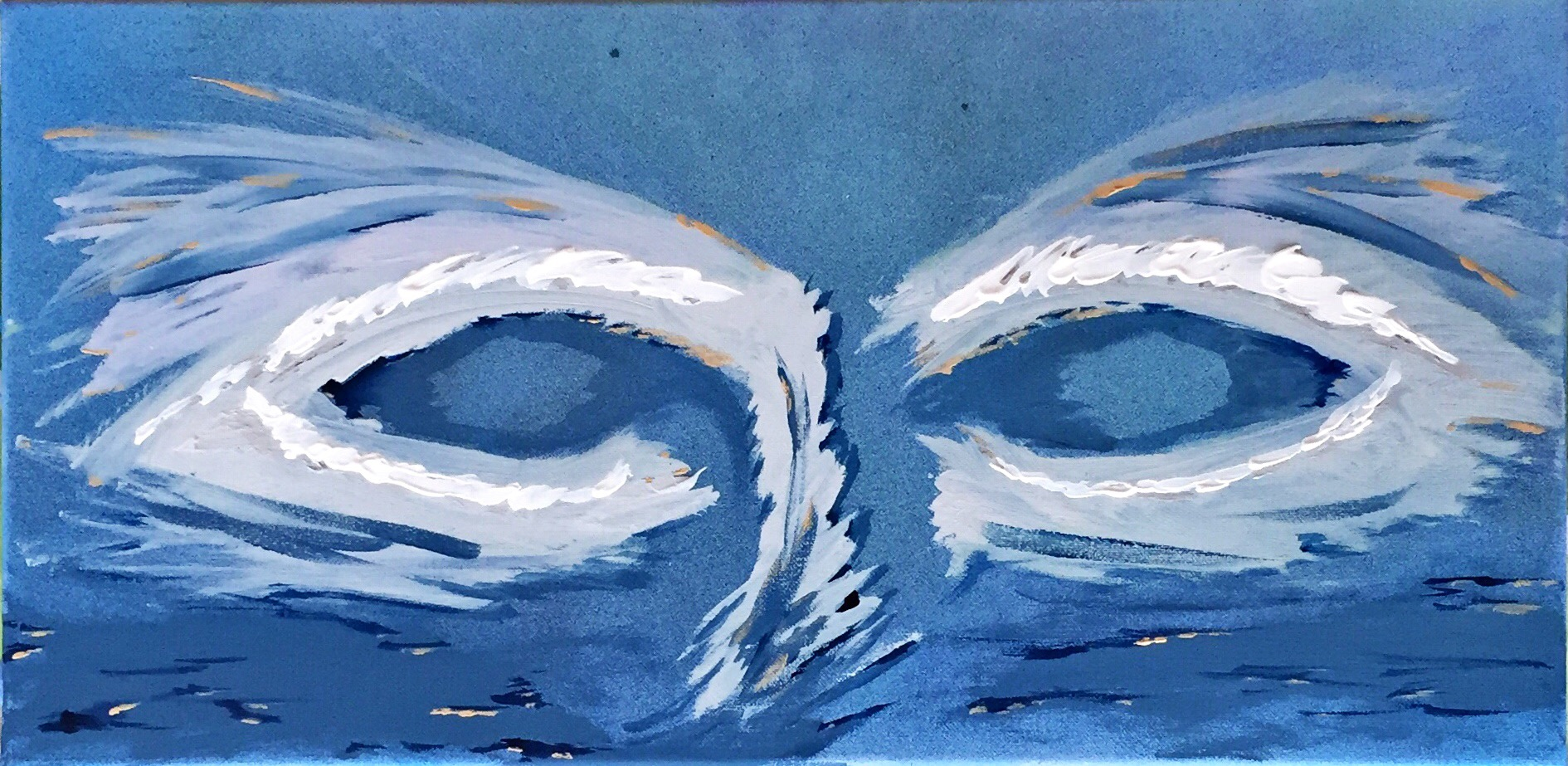 Bild Acrylmalerei auf Leinwand Seele Michael Lubomirski