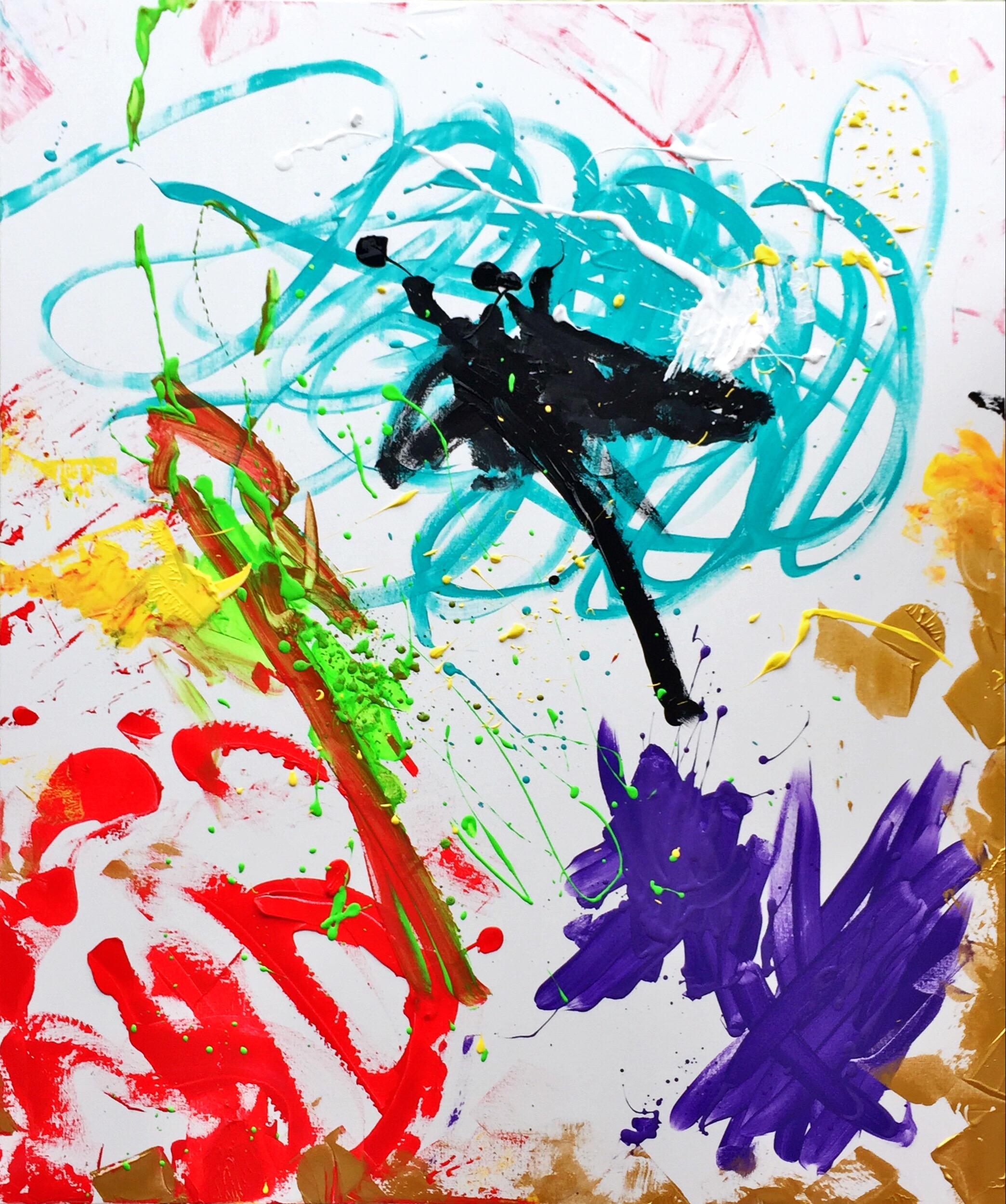 SoulArtist Acryl Malerei Bild auf Leinwand Julia Merkt