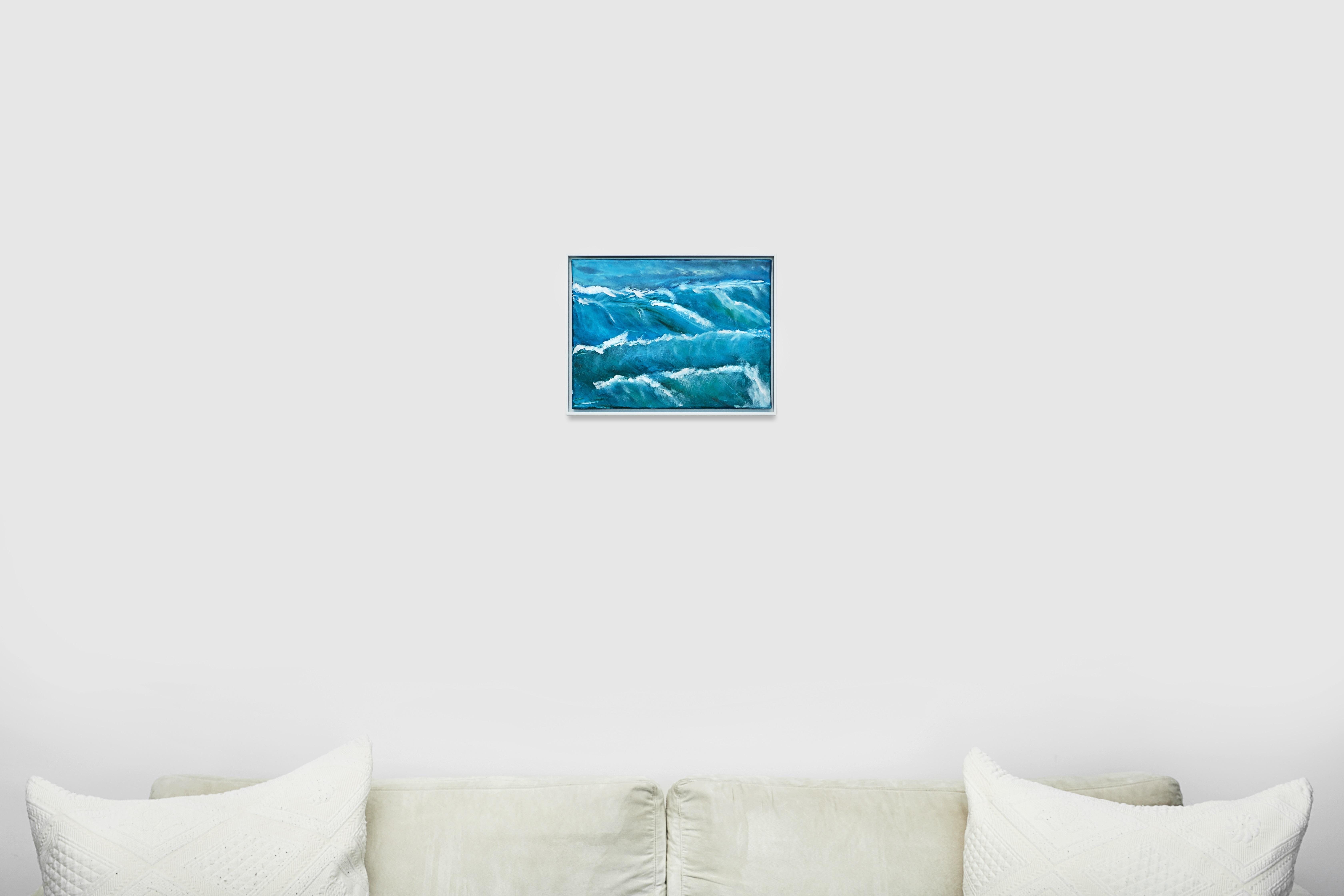 SoulArtist Kunstwerk Malerei Wasser Acrylmalerei