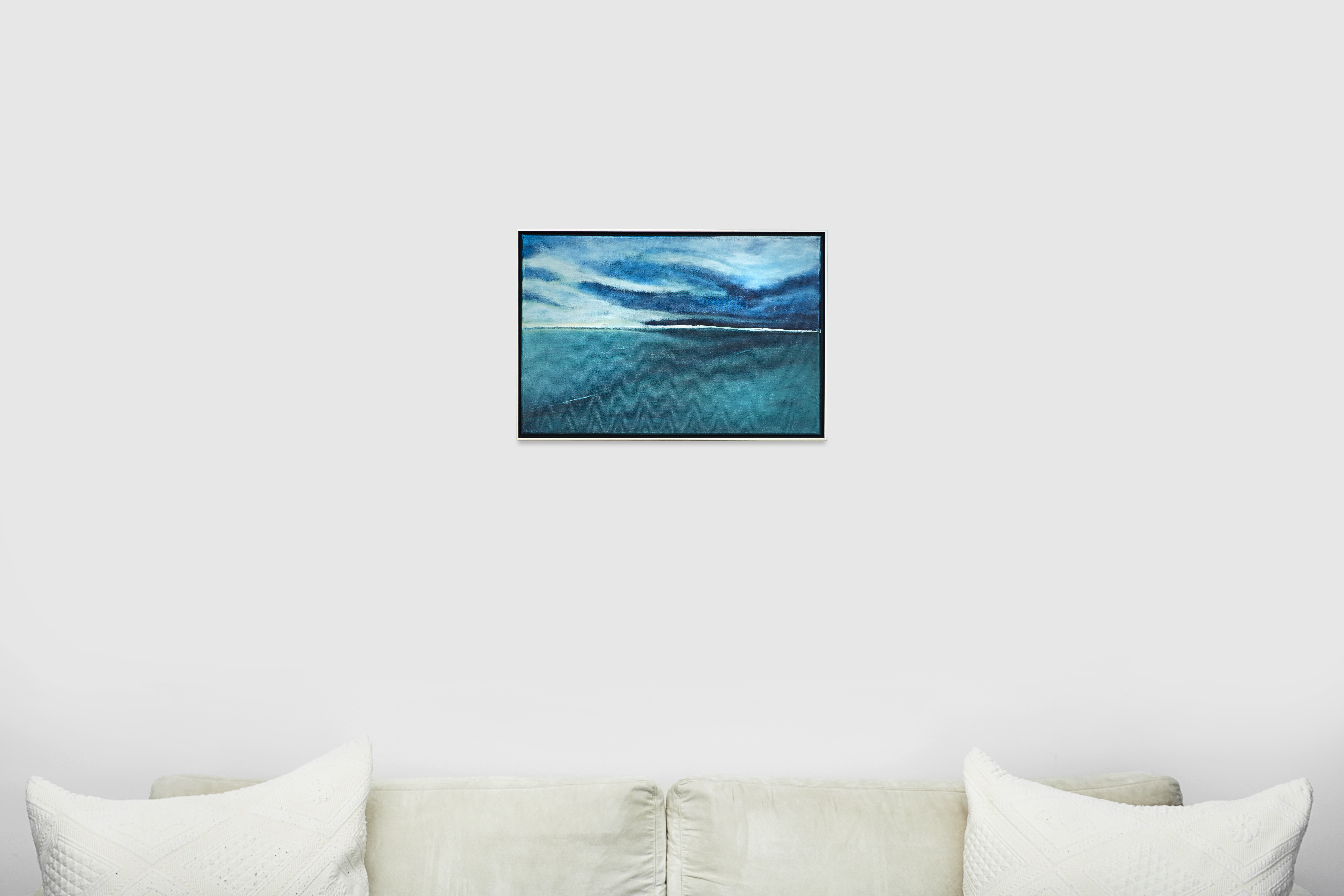 Soulartist Kunst Gemälde Wasser The calm