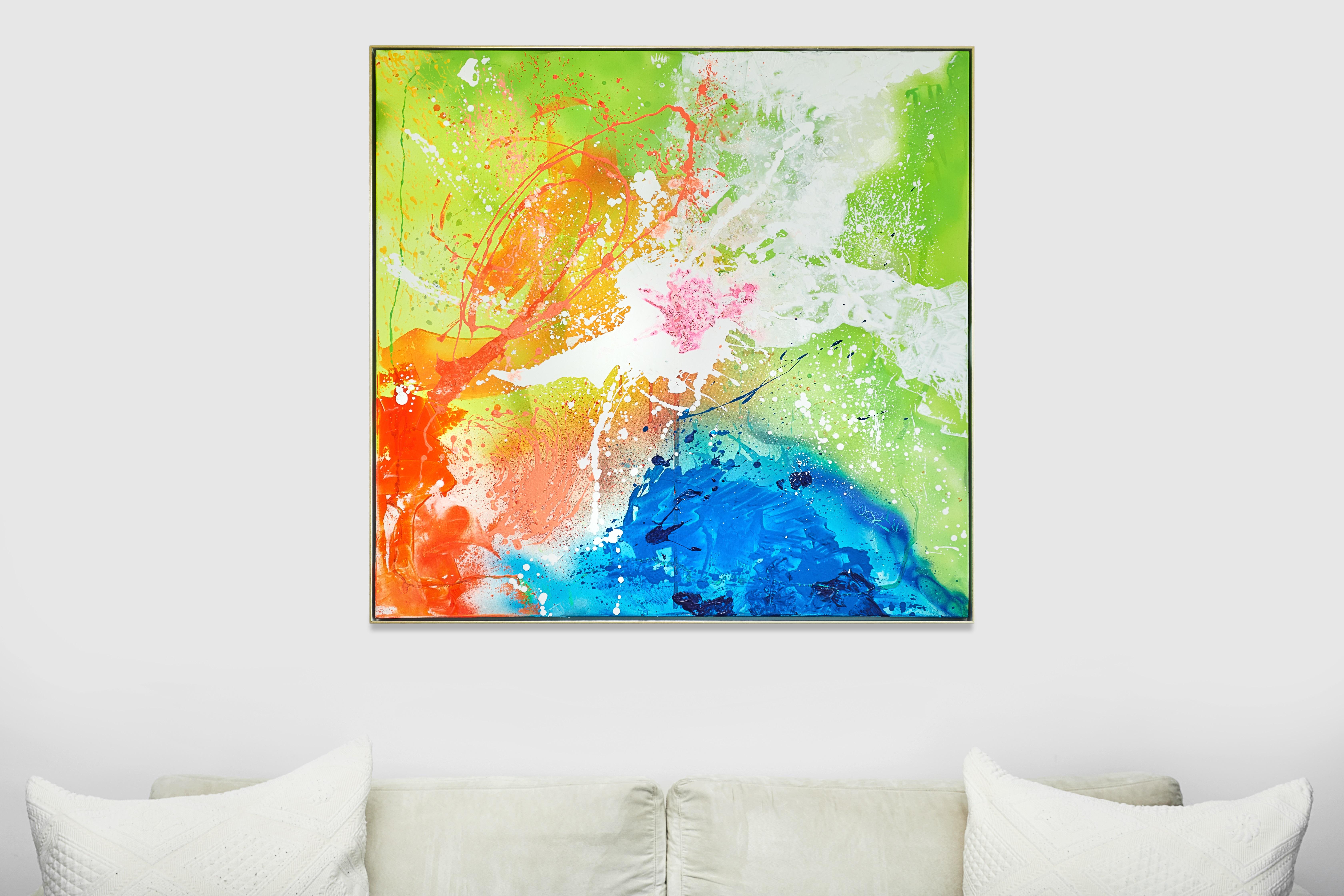 SoulArtist Kunst Design Markendesign Interior Inneneinrichtung Kunstwerk Acrylmalerei