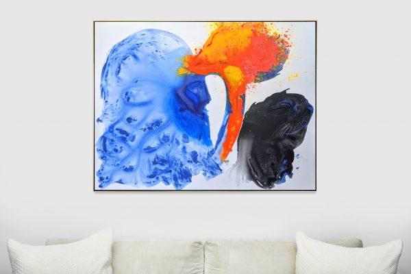 the seal, soulartist, kunst, art, acryl, modernart